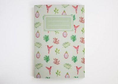 notebook tropical