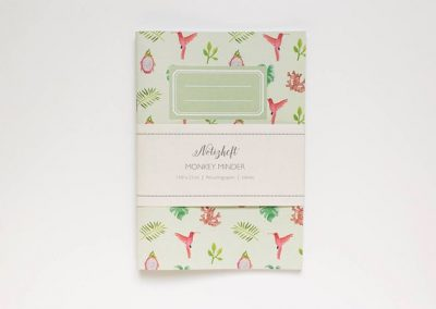 notebook tropical banderole