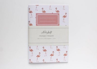 notebook flamingo eco