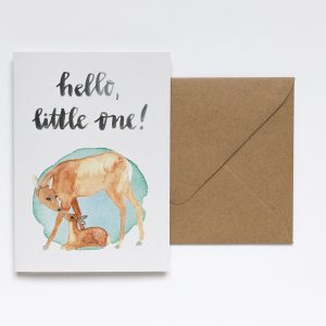 greeting card baby